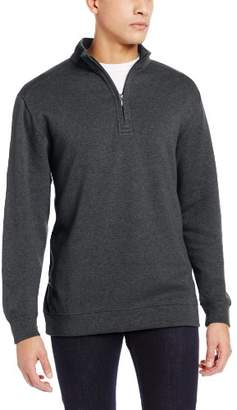 Cutter & Buck Men's Big-Tall Forest Park Half Zip Sweater