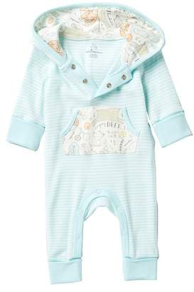 Baby Starters Woodland Friends Hooded Kangaroo Pocket Coverall (Baby Boys)