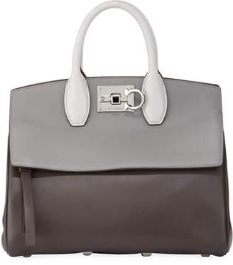 Salvatore Ferragamo Studio Piccolo Medium Satchel Bag