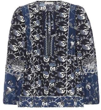 Ulla Johnson Rami cotton-blend blouse