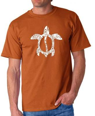 Pop Culture Los Angeles Pop Art Men's T-Shirt - Honu Turtle - Hawaiian Islands