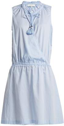 Heidi Klein Cassis wrap-front cotton dress