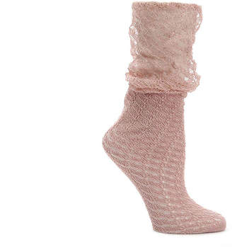 Lemon Net Point Ankle Sock - Women's