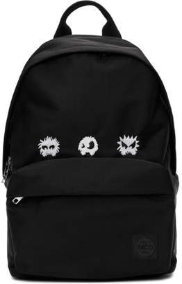 McQ Black Monster Classic Backpack