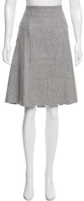 Studio Nicholson Knee-Length Wool Skirt w/ Tags
