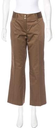 Luciano Barbera Mid-Rise Wide-Leg Pants w/ Tags