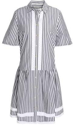 Kate Spade Broome Street Striped Cotton-poplin Shirt Dress