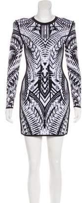 Balmain Structured Bodycon Dress