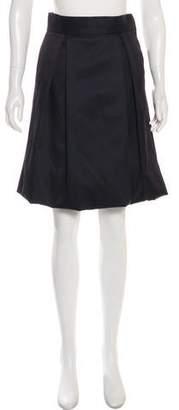 Lela Rose Knee-Length Pleated Skirt