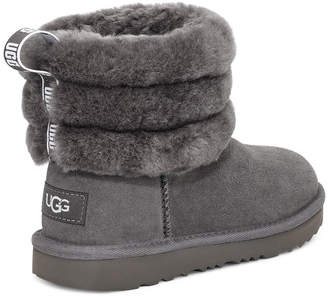UggUGG Fluff Mini Quilted Logo Boot