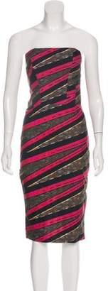 Stella Jean Strapless Mini Dress w/ Tags