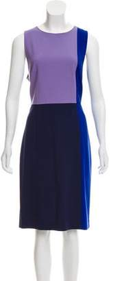 Diane von Furstenberg Wool Colorblock Dress