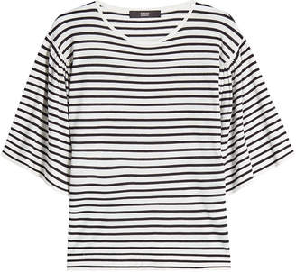 Steffen Schraut Striped Top with Cashmere