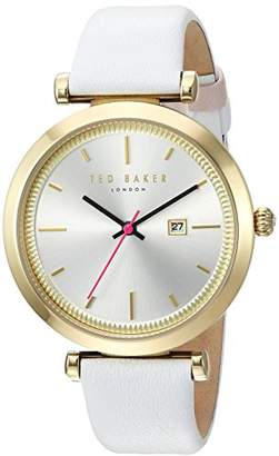 Ted Baker Women's 'AVA' Quartz Stainless Steel and Leather Dress Watch