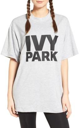 Women's Ivy Park Logo Tee $30 thestylecure.com