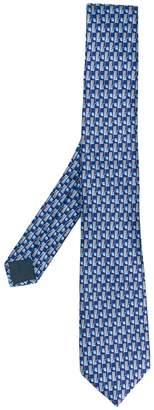 Lanvin patterned tie