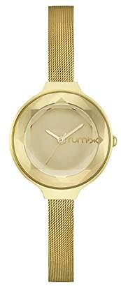 RumbaTime Women's 'Orchard Gem Mesh' Quartz Metal and Plated Casual Watch(Model: 24326)