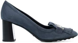 Tod's Court Shoe In Suede