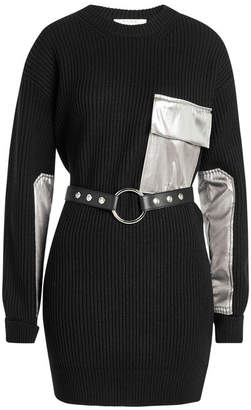 ALYX STUDIO Wool Dress with Leather Belt
