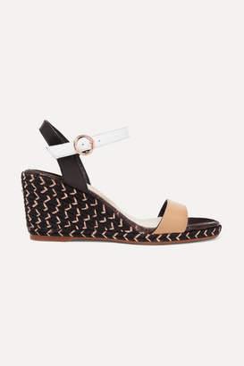 6c7ba18b806d Sophia Webster Lucita Leather Espadrille Wedge Sandals - Tan