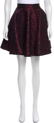 Giamba Metallic Knee-Length Skirt
