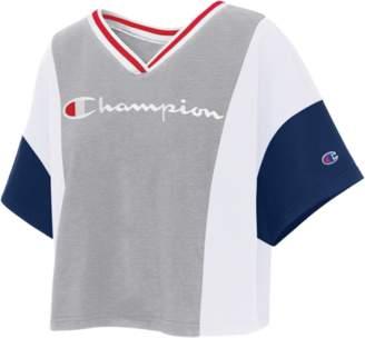 7442e617245a Champion Colorblock Crop T-Shirt - Women's