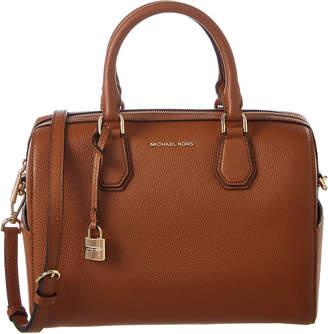 MICHAEL Michael Kors Mercer Medium Leather Duffel Bag