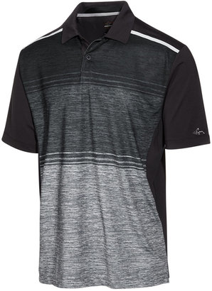 Greg Norman For Tasso Elba Men's Performance Sun Protection Polo, Created for Macy's $60 thestylecure.com