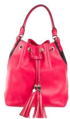Henri Bendel Leather Bucket Bag