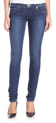 True Religion Stella Low-Rise Skinny Jeans $178 thestylecure.com