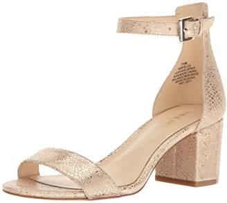 Nine West Women's Fields Metallic Dress Sandal