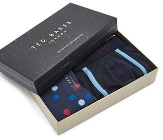 Ted Baker Surfer 2-Piece Boxer Shorts & Sock Gift Set