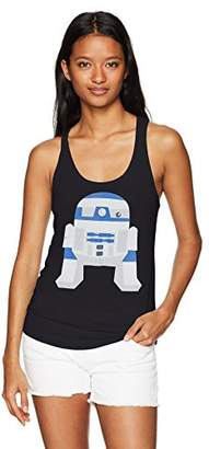 Star Wars Women's Cute R2d2 Ideal Racerback Graphic Tank Top