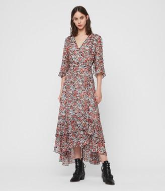 AllSaints Delana Wilde Dress