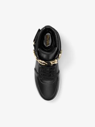 9fd305b005861 MICHAEL Michael Kors Cortlandt Embellished Leather High-Top Sneaker