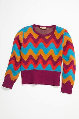 Vintage Loves Vintage 1960s Chevron Sweater