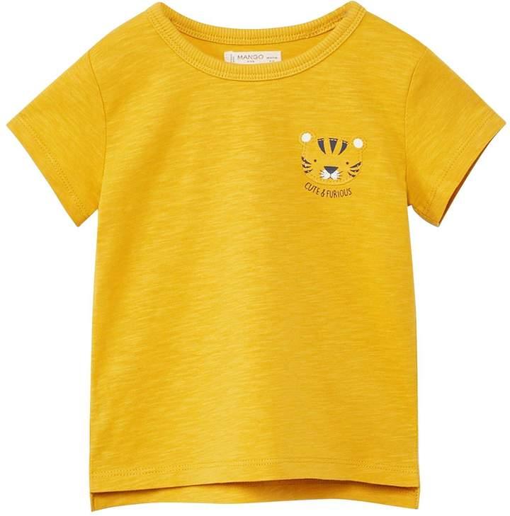 Baby Boys Tiger Print T-Shirt