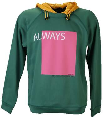 Valentino Green Front Print Sweatshirt