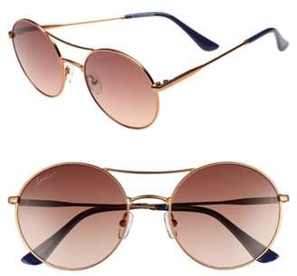 ED Ellen Degeneres 55mm Round Sunglasses