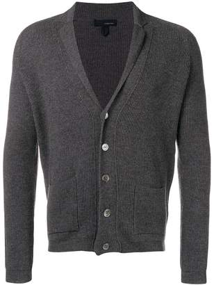 Lardini shawl collar cardigan