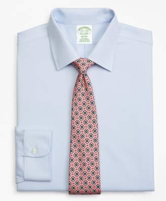 Brooks Brothers Milano Slim-Fit Dress Shirt, Non-Iron Dobby Micro-Dot
