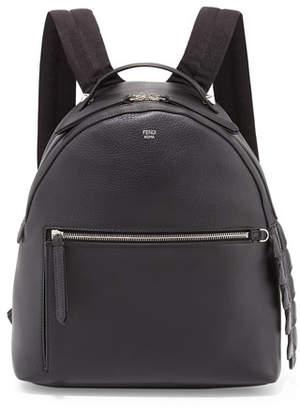 Fendi Leather Large Dome Backpack