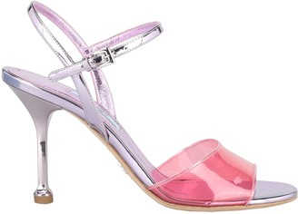 Prada Transparent Strap Sandals