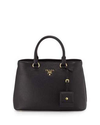 Prada Vitello Diano Tote Bag, Black (Nero) $1,740 thestylecure.com