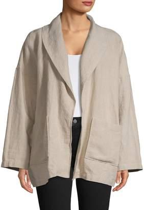 Eileen Fisher Easy-Fit Linen Jacket