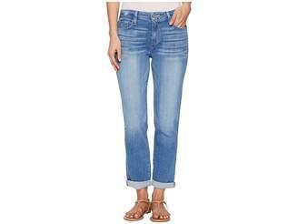 Paige High-Rise Jimmy Jimmy Crop in Atterbury Women's Jeans