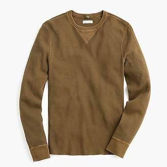 J.Crew Wallace & Barnes thermal crewneck T-shirt