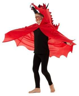 F&F Welsh Dragon St. Davids Day Costume 1-2 years