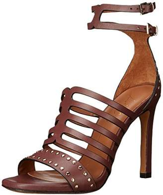 Lola Cruz Women's Double Buckle Ankle Strap Sandal