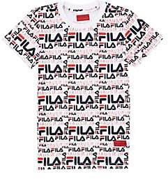 Fila Haus of JR x Kids' Logo-Print Short-Sleeve T-Shirt